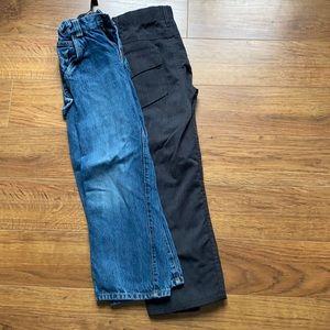 Children's place size 7 , A! Black pants jeans